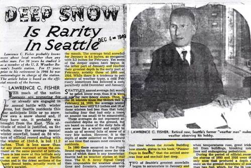 "Part of retired weather man Lawrence Fisher's ""Mediterranean"" contribution to the Seattle Times, on Dec. 4, 1949"