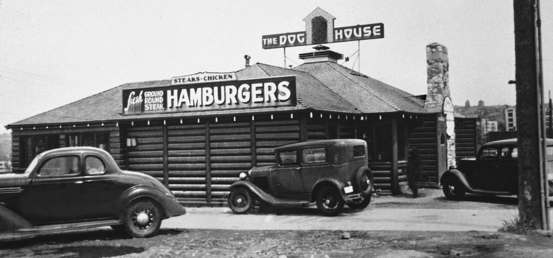 """Seattle Now & Then: """"All Roads Lead To The Dog House"""