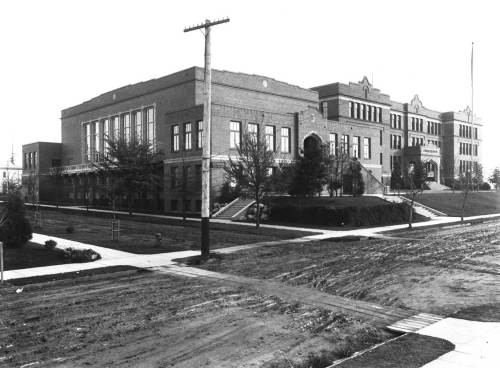 Lincoln High School, ca. 1914.
