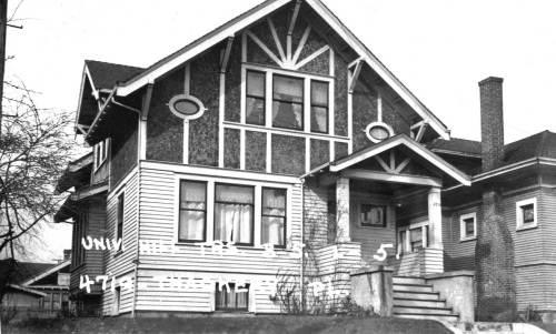 4719 Thackeray Place NE.  The 1938 WPA tax photo.