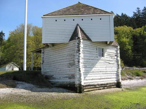 NOW: English Camp Blockhouse in 2005