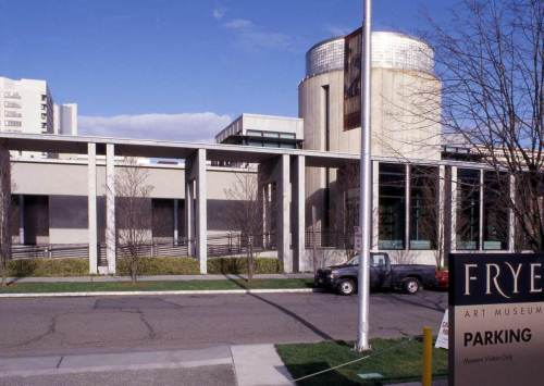 The new Frye Art Museum in 2001.
