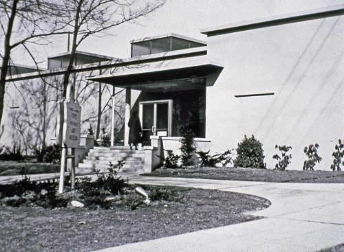 The new Frye Art Museum in 1952 (Courtesy Frye Art Museum)