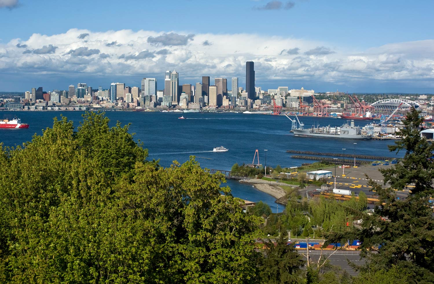 Seattle Now Amp Then The View From Belvedere Viewpoint Dorpatsherrardlomont