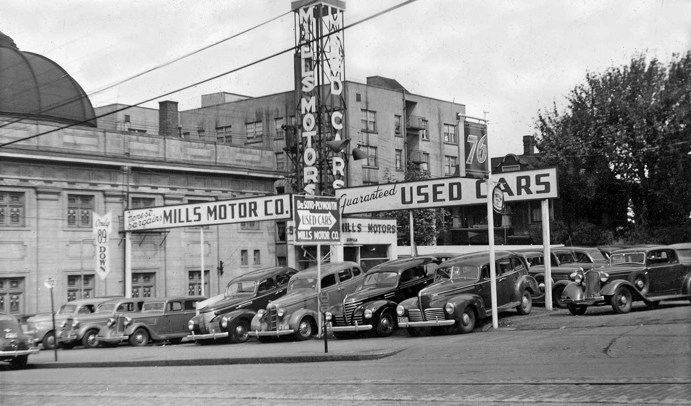 Dodge Dealership Houston >> Seattle Now & Then: The Beaumont Apartments ...