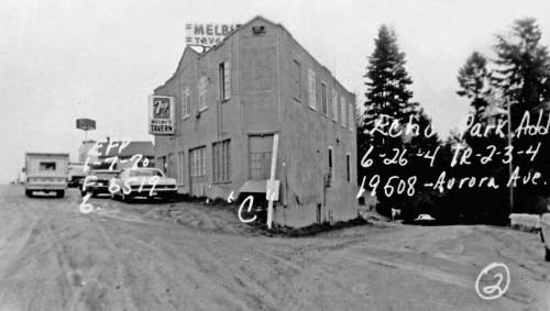 The Tavern on Jan 7, 1970 and another tax photo courtesy of the Washington State Archive.