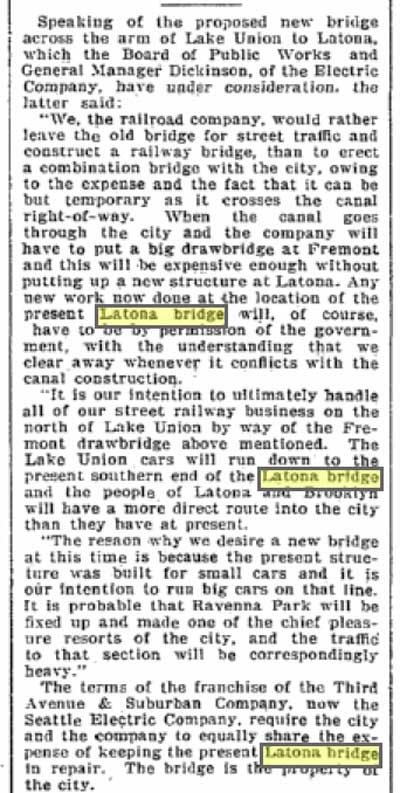 From The Seattle Times, June 11, 1901.