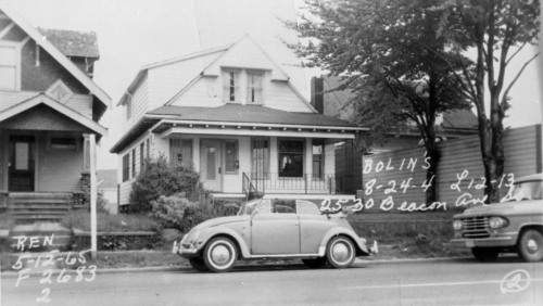 2524 Beacon Ave. S. with Bug May 12, 1965.