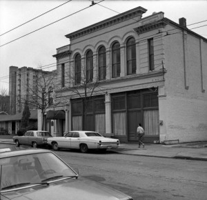 Frank Shaw's snap of the old Assay office on 9th  north of James.