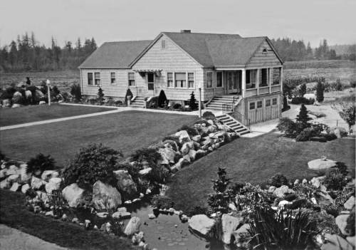THEN: Twenty years ago the Mukai Farm and Garden on Vashon Island was designated a King County Landmark.  (Courtesy, Vashon Maury Island Heritage Association)