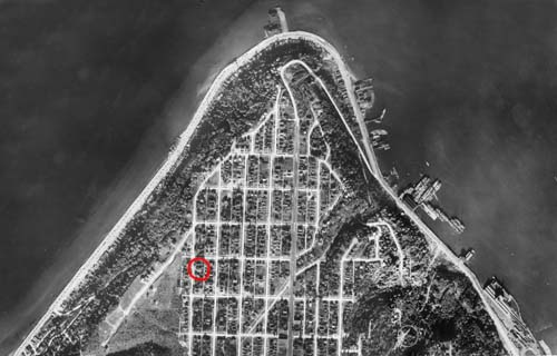 1929 Aerial of West Seattle Admiral Neighborhood web