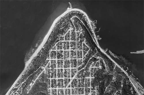 1936 Aerial of West Seattle Admiral Neighborhood web