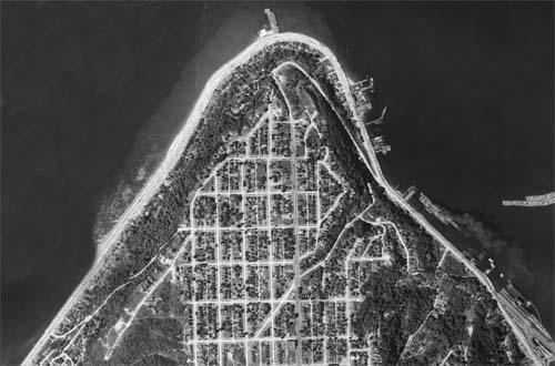 1936 Aerial of West Seattle Admiral Neighborhood web