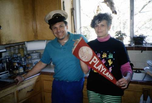 As coda, Playland couple in their kitchen.  Years ago someone share this with me, but without interpretation.  It is at least possible the they were involved in also running the place in its later years.  But wait!  Are their clothes and kitchen appointments post 1960?  If so these are fond memories.
