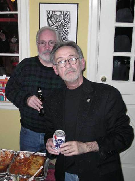 Walt Crowley with beard,  2006