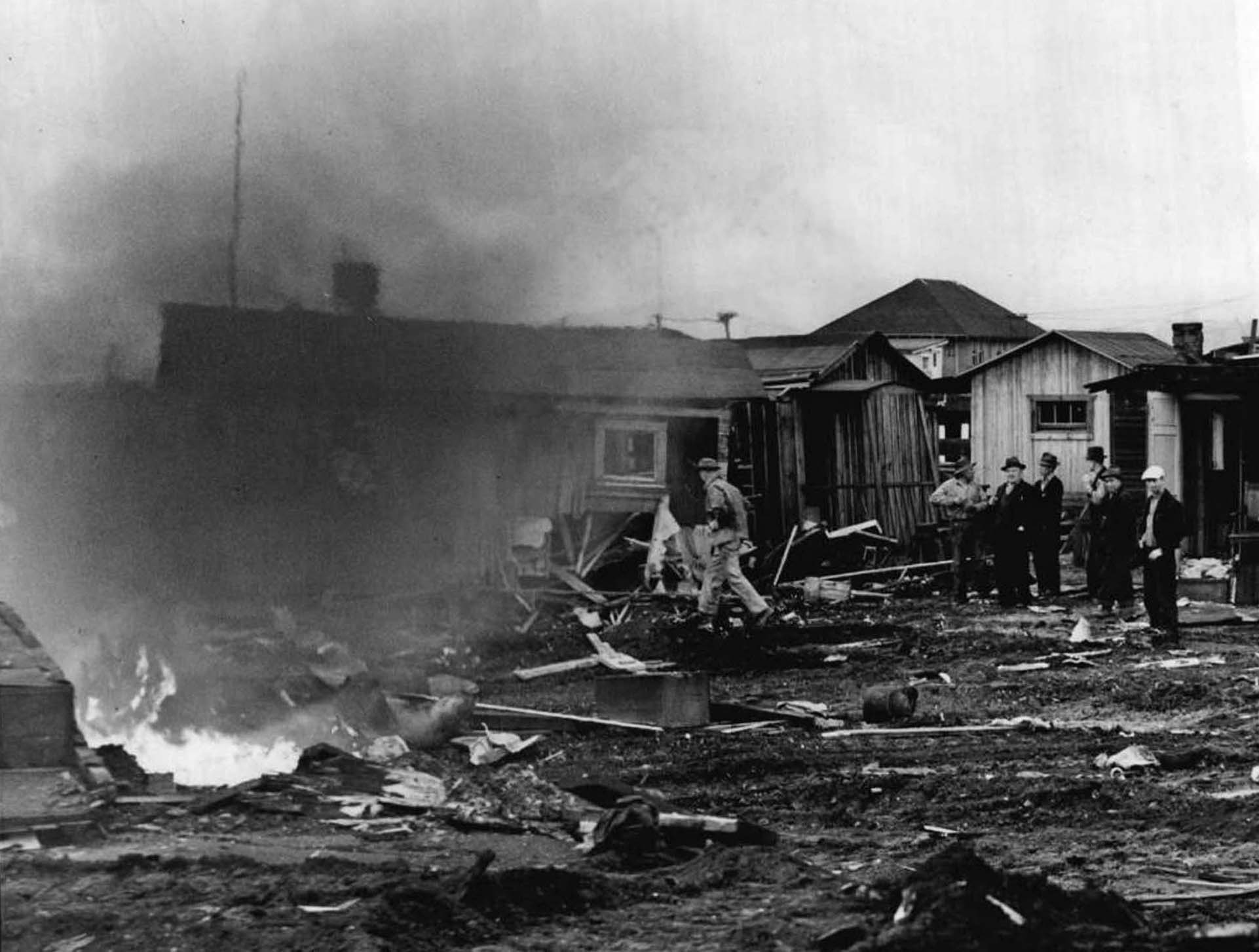 Inside Hooverville Homes Fire poverty hoovervilleInside Hooverville Homes
