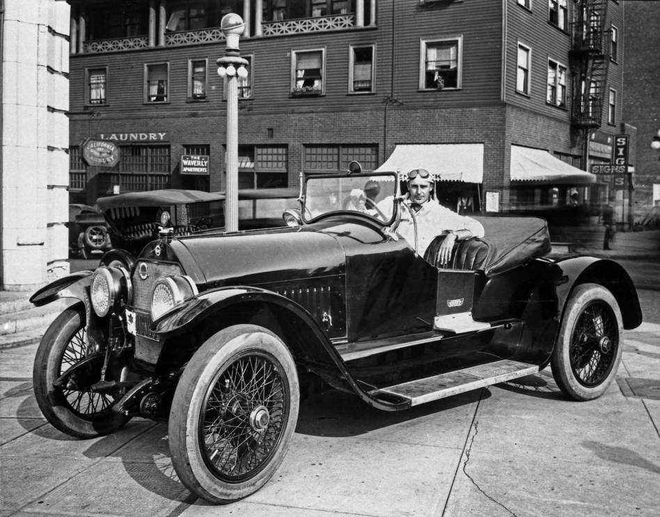 THEN: While visiting Seattle for some promoting, silent film star Wallace Reid shares the