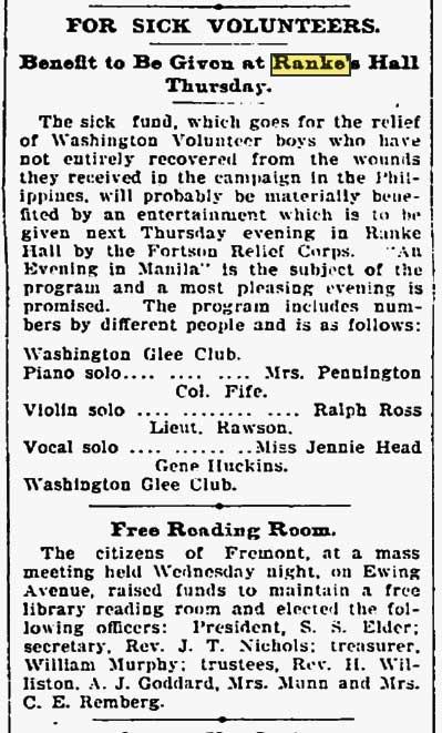 The Seattle Times, Jan. 26, 1900