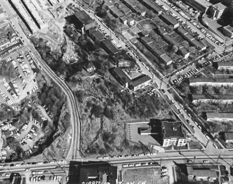 First Hill aerial detail north of Yesler WEB