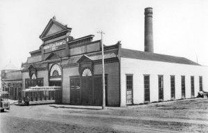 The Madison Cable Railway powerhouse near 21st. Avenue