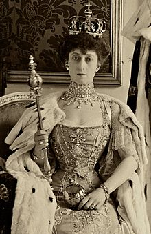 Here namesake the Danish Queen Maud, formerly of Whales.