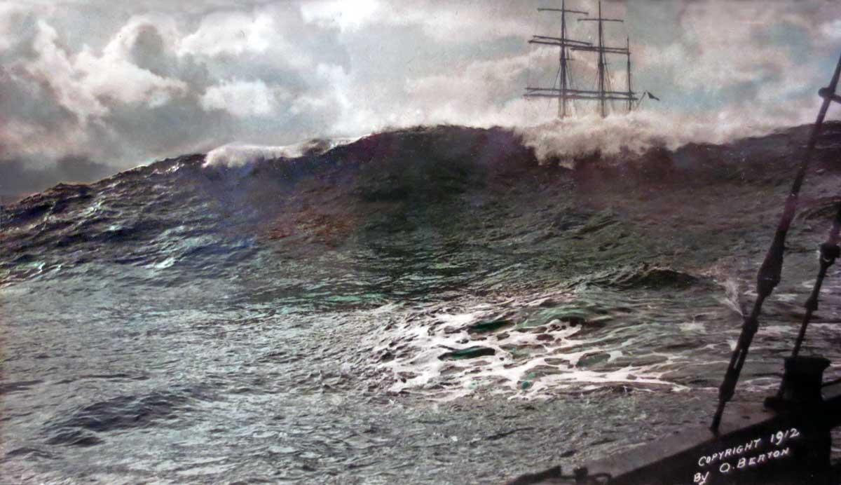 X Columbia River Bar W France Bark Colonee De Villee Mare