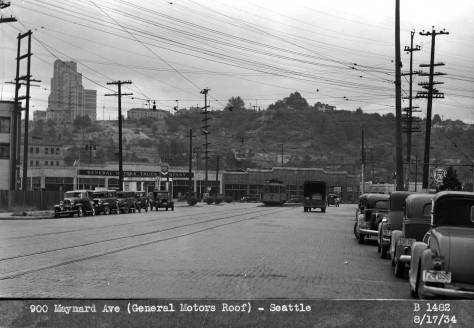 Taken from Airport Way on August 17, 1934.