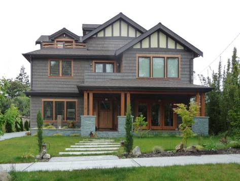 I visit the home site in 2010 and found the pioneer landmark replaced with this McMansion, which looks more comfortable than the James digs, which were drafty.