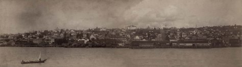 MOHAI images 377 & 3494 merged into panorama of Seattle c1887 Judkin's Photos