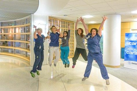 Jumping nurses