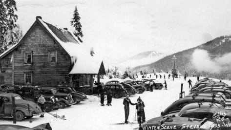 Another Stevens Pass ski lodge.   Photo by Ellis
