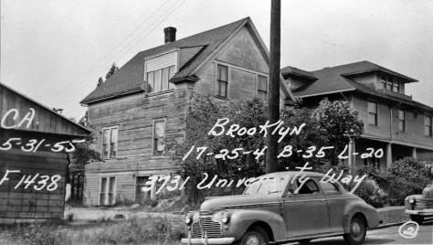 3731 University Way, May 31, 1955