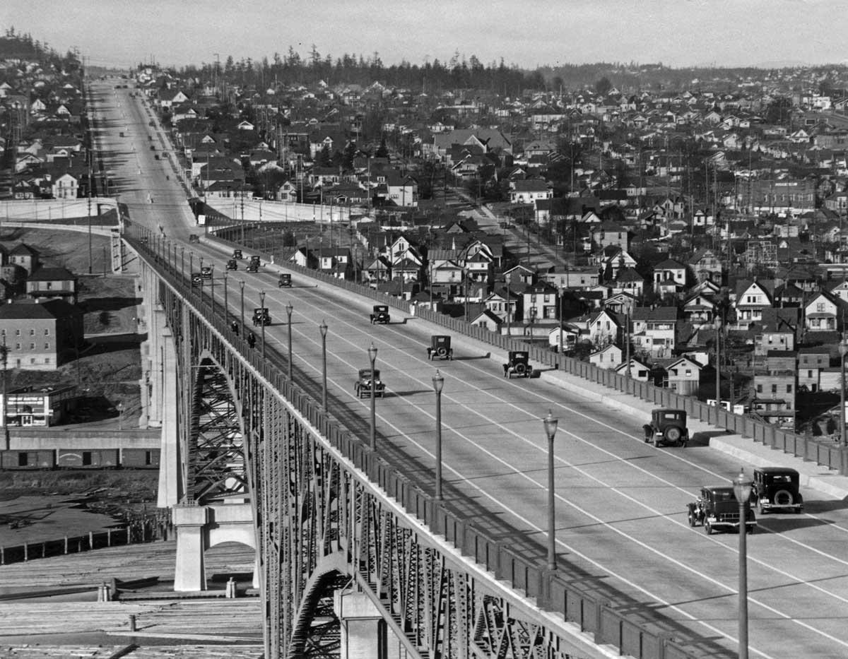 """Seattle Now & Then: """"Murder"""" On Aurora"""