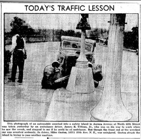 Today's Traffic Lesson on March 27, 1939.