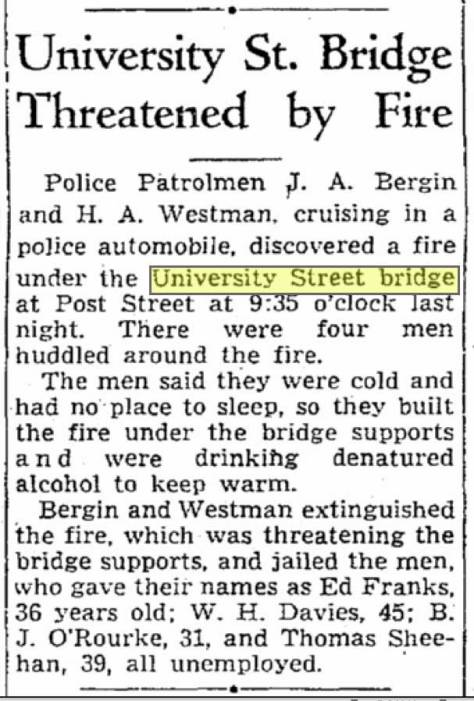 A clip from The Seattle  Times on May 11, 1938.