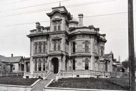 The Stacy mansion, ca. 1890.