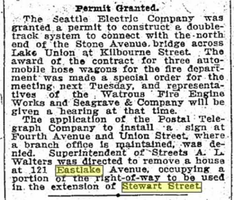 A Dec. 30, 1910 clip from The Times.