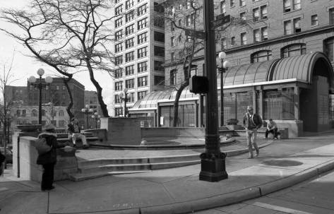 The Prefontaine Fountain, 1993.