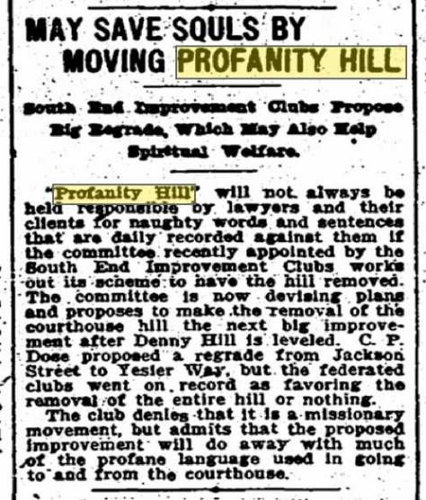 Times clip from Sept. 10, 1909 with radical proposals.
