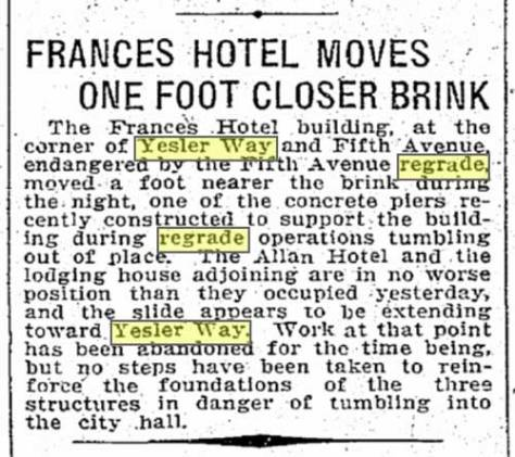 Times clip from August 24, 1911.