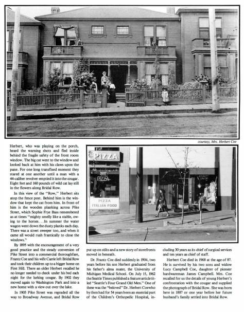 Included as the 20th feature in Seattle Now and Then, Volume One, 1984.