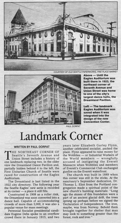 Looking kitty-corner through 7th Ave. and Union Street. First appeared in Pacific, March 8, 1992.