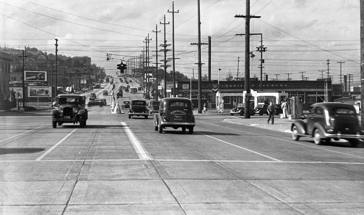 Seattle Now & Then: The North Seattle Trolley Yard