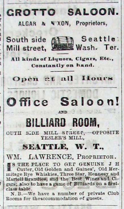 A advertisement from the Oct 15, 1877 issue of the Dispatch.