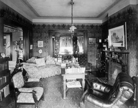 A Burwell living room.