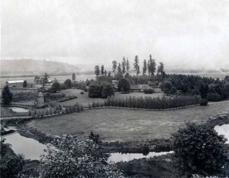 A 1921 panorama of WILLOWMOOR. Courtesy of Ron Edge and first published in The Seattle Times.