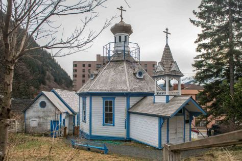 The old Russian church in Juneau
