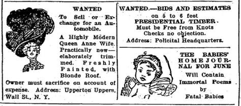 A Seattle Times satire printed on the same May day as the cartoon above.