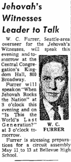 A Time clipping from April 21, 1962.