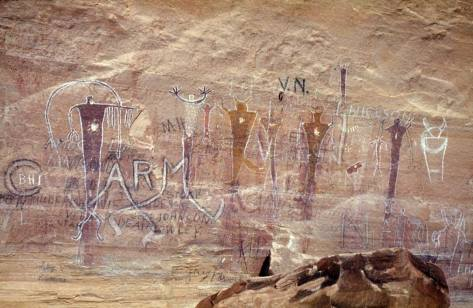 Utah Rock Art - variations